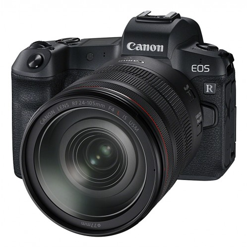Canon EOS-R Mirrowless Camera with 24-105mm Lens