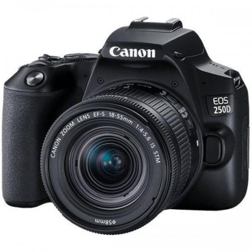 Canon EOS 250D with 18-55mm Lens