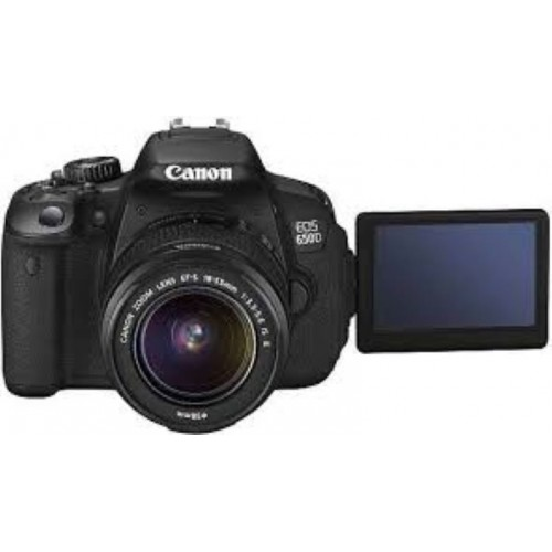 Canon EOS 650D Camera with 18-55mm Lens (Fairly Used)