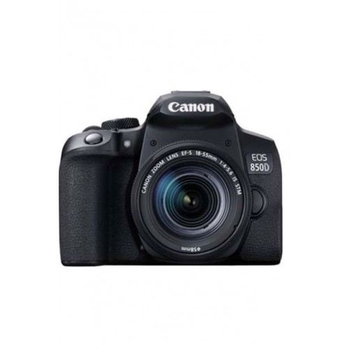 Canon EOS 850D (Rebel T8i) Camera with 18-55mm Lens
