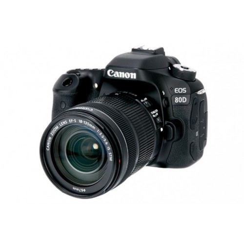 Canon EOS 80D DSLR Camera with 18-135 Lens