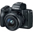 Canon EOS M50 Camera with 15-45mm Lens