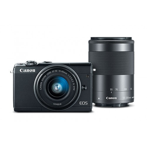 Canon EOS M100 Camera with 18-44 STM Lens