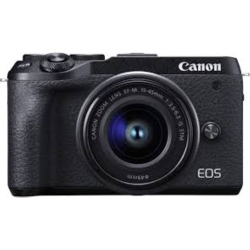 Canon EOS M6 Mark II Mirrowless Camera with 15-45 IS STM Kit