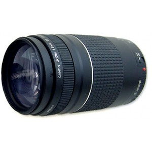 Canon EF75-300mm f4-5.6 III Lens