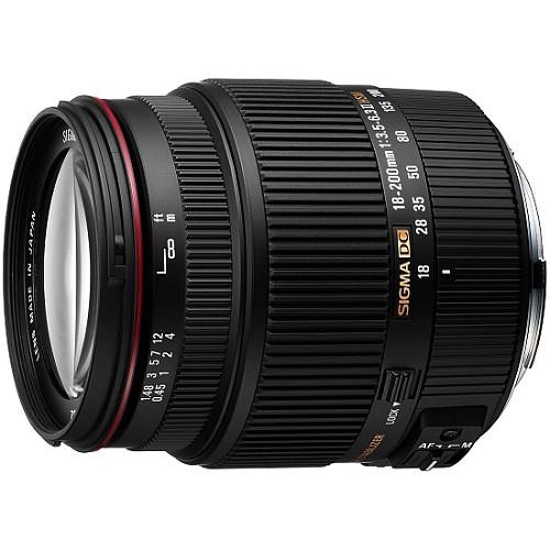 Sigma 18-200mm f3.5-6.3 Lens (Canon & Nikon)