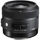 Sigma 30mm 1.4 Prime Lens