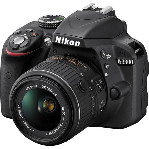 Nikon D3300 Professional DSLR Camera with 18-55mm Lens