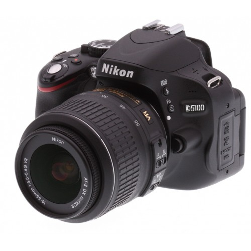 Nikon D5100 Camera with 18-55mm Lens (Fairly Used)