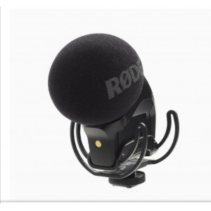 RODE Stereo Videomic Pro Rycote on-Camera Microphone