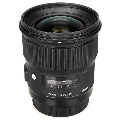 Sigma 24mm f/1.4 DG Canon Lens