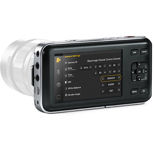 Blackmagic Pocket Cinema Camera 2.5K