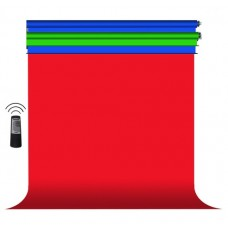 Electric Studio Background 4-1  (Standard) With Stands and 4 Seamless Papers