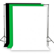 Mobile Background Stand with 10ft X 10ft  Backdrop