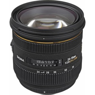 Sigma 24-70mm f/2.8 Canon Lens