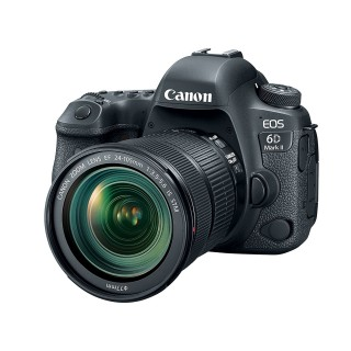 Canon EOS 6D Mark II professional DSLR Camera with 24-105 Lens STM