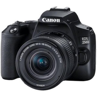 Canon Eos 250d With 18-55mm IS Lens
