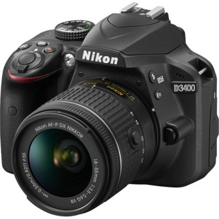 Nikon D3400 with 18-55mm Lens