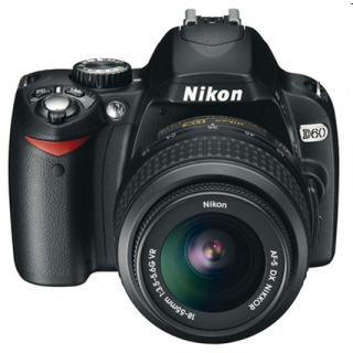 Nikon D60 with 18-55mm Lens (London Used)